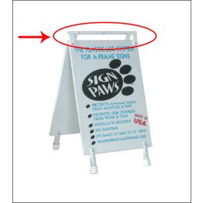 Sign Paws Plastic Hinge