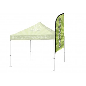 Tent Angled Feather Flag Medium   FREE GROUND SHIPPING Next Day Print