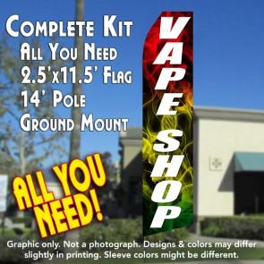 vape shop feather flags