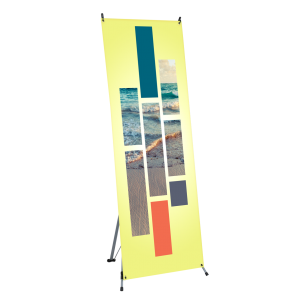 "Banner Stand - X-Stand 24""x63"""