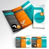 "5000 8.5""x11"" Tri-Fold Brochures on 100LB Gloss Book with AQ"
