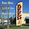 Beer (Mug) Windless Advertising Flag Beer feather flag