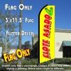 ELOTE ASADO Flutter Feather Banner Flag (11.5 x 3 Feet)