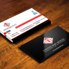 "Glossy Business Cards UV on 4-color side(s) 2"" X 3.5"" 14PT  Free Ground Shipping"
