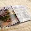 """Mini booklets 5.5 """" x 8.5"""" AQ coating 100 lbs"""
