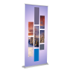 "Banner Stand - SD Retractable 36""x92"" (Silver)"
