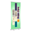 "Standard Retractable Banner Stand 47""x81""  (Stand + Insert)"
