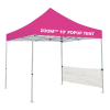 Custom Printed Zoom 10 Popup Tent - Half Wall Kit Only