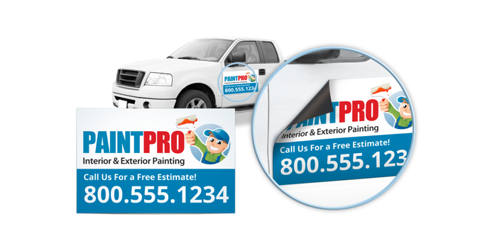 Printing Signs Graphic Web Design Services - Custom car magnetscar magnets magnetic car signscustom car magnets vehicle magnets